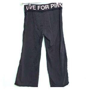 Victoria's Secret Pink comfy cropped Capri pants